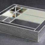 Linha vidro e espelho